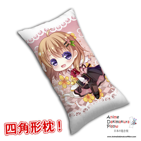 New Cocoa Hoto - Is the Order Rabbit Anime Dakimakura Rectangle Pillow Cover H0283 - Anime Dakimakura Pillow Shop | Fast, Free Shipping, Dakimakura Pillow & Cover shop, pillow For sale, Dakimakura Japan Store, Buy Custom Hugging Pillow Cover - 1