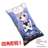 New Chino Kafuu - Is the Order Rabbit Anime Dakimakura Rectangle Pillow Cover H0287 - Anime Dakimakura Pillow Shop | Fast, Free Shipping, Dakimakura Pillow & Cover shop, pillow For sale, Dakimakura Japan Store, Buy Custom Hugging Pillow Cover - 1
