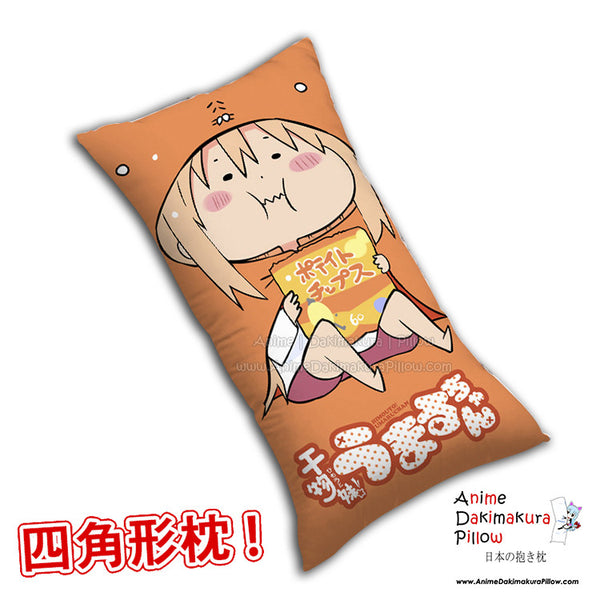 New Umaru Doma - Himouto Umaru Chan Anime Dakimakura Rectangle Pillow Cover H0294 - Anime Dakimakura Pillow Shop | Fast, Free Shipping, Dakimakura Pillow & Cover shop, pillow For sale, Dakimakura Japan Store, Buy Custom Hugging Pillow Cover - 1