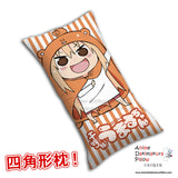 New Umaru Doma - Himouto Umaru Chan Anime Dakimakura Rectangle Pillow Cover H0295 - Anime Dakimakura Pillow Shop | Fast, Free Shipping, Dakimakura Pillow & Cover shop, pillow For sale, Dakimakura Japan Store, Buy Custom Hugging Pillow Cover - 1