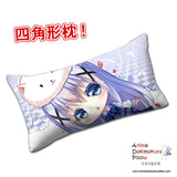 New Chino Kafuu - Is the Order Rabbit Anime Dakimakura Rectangle Pillow Cover H0299 - Anime Dakimakura Pillow Shop | Fast, Free Shipping, Dakimakura Pillow & Cover shop, pillow For sale, Dakimakura Japan Store, Buy Custom Hugging Pillow Cover - 1