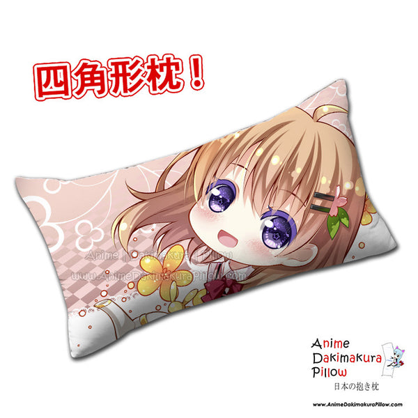 New Cocoa Hoto - Is the Order Rabbit Anime Dakimakura Rectangle Pillow Cover H0307 - Anime Dakimakura Pillow Shop | Fast, Free Shipping, Dakimakura Pillow & Cover shop, pillow For sale, Dakimakura Japan Store, Buy Custom Hugging Pillow Cover - 1