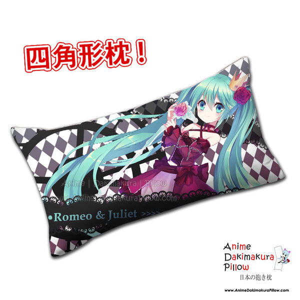 New Romeo and Juliet Miku Hatsune - Vocaloid Anime Dakimakura Rectangle Pillow Cover H0309