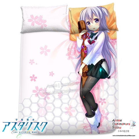 New Kirin Toudou - The Asterisk War Japanese Anime Bed Blanket or Duvet Cover with Pillow Covers H0310 - Anime Dakimakura Pillow Shop | Fast, Free Shipping, Dakimakura Pillow & Cover shop, pillow For sale, Dakimakura Japan Store, Buy Custom Hugging Pillow Cover - 1