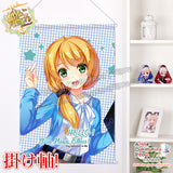 New Ellen Baker -  New Horizon Japanese Anime Wall Scroll Poster and Banner H0328 - Anime Dakimakura Pillow Shop | Fast, Free Shipping, Dakimakura Pillow & Cover shop, pillow For sale, Dakimakura Japan Store, Buy Custom Hugging Pillow Cover - 1