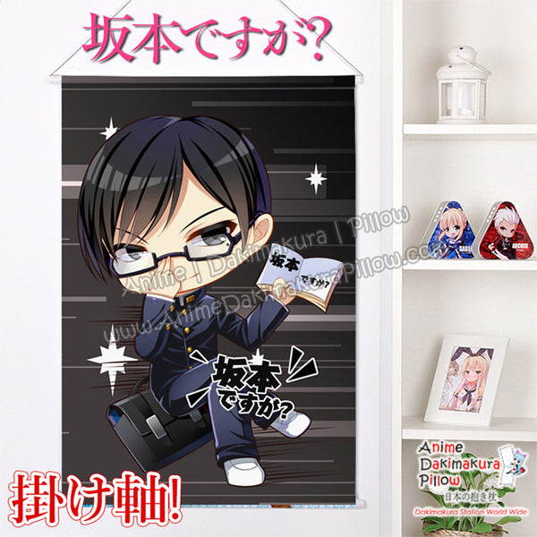New  Haven't You Heard I'm Sakamoto Japanese Anime Wall Scroll Poster and Banner H0332 - Anime Dakimakura Pillow Shop | Fast, Free Shipping, Dakimakura Pillow & Cover shop, pillow For sale, Dakimakura Japan Store, Buy Custom Hugging Pillow Cover - 1