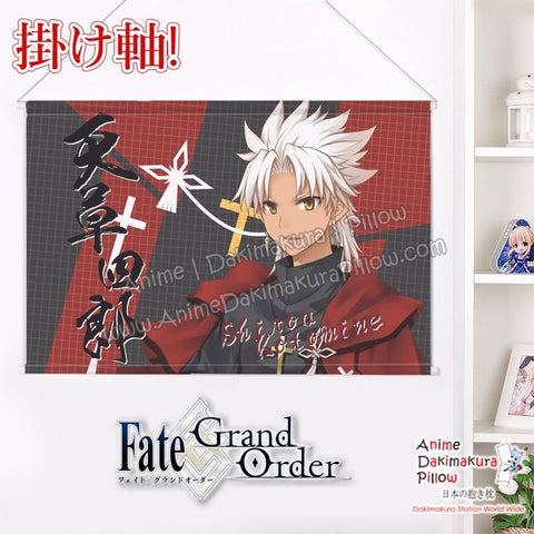 New  Fate Grand Order - Shirou Kotomine  Japanese Anime Wall Scroll Poster and Banner H0336 - Anime Dakimakura Pillow Shop | Fast, Free Shipping, Dakimakura Pillow & Cover shop, pillow For sale, Dakimakura Japan Store, Buy Custom Hugging Pillow Cover - 1