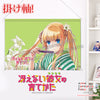 New  Saekano How to Raise a Boring Girlfriend - Eriri Spencer Sawamura  Japanese Anime Wall Scroll Poster and Banner H0339 - Anime Dakimakura Pillow Shop | Fast, Free Shipping, Dakimakura Pillow & Cover shop, pillow For sale, Dakimakura Japan Store, Buy Custom Hugging Pillow Cover - 1