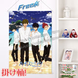 New Free - Iwatobi Swim Club Japanese Anime Wall Scroll Poster and Banner H0343 - Anime Dakimakura Pillow Shop | Fast, Free Shipping, Dakimakura Pillow & Cover shop, pillow For sale, Dakimakura Japan Store, Buy Custom Hugging Pillow Cover - 1