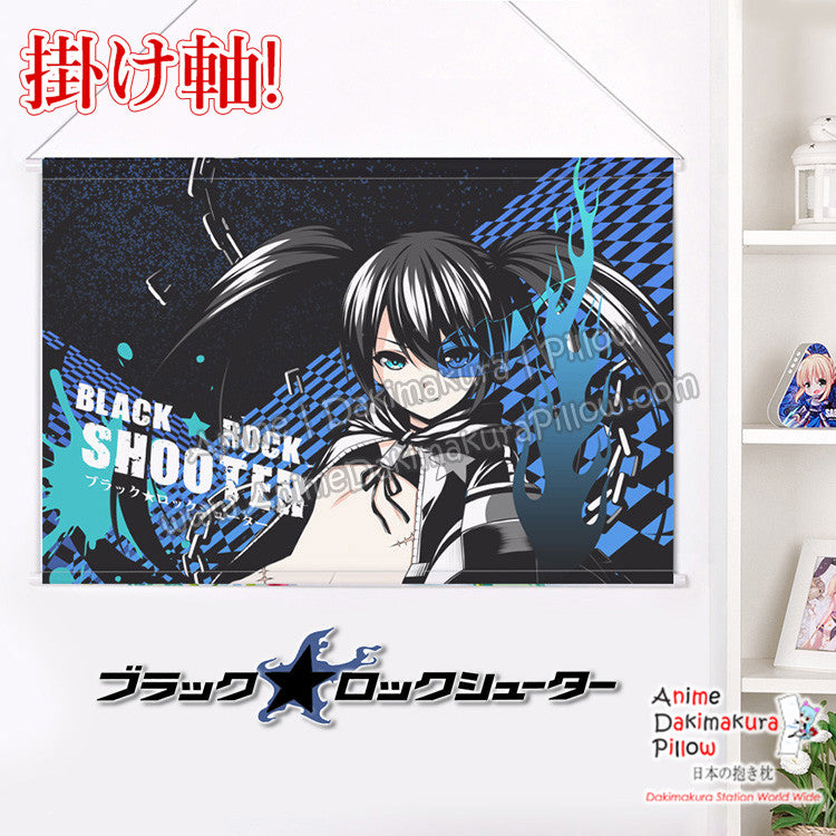 New Black Rock Shooter - Huke Japanese Anime Wall Scroll Poster and Banner H0347