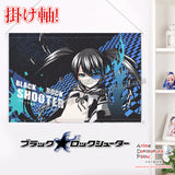 New Black Rock Shooter - Huke Japanese Anime Wall Scroll Poster and Banner H0347 - Anime Dakimakura Pillow Shop | Fast, Free Shipping, Dakimakura Pillow & Cover shop, pillow For sale, Dakimakura Japan Store, Buy Custom Hugging Pillow Cover - 1
