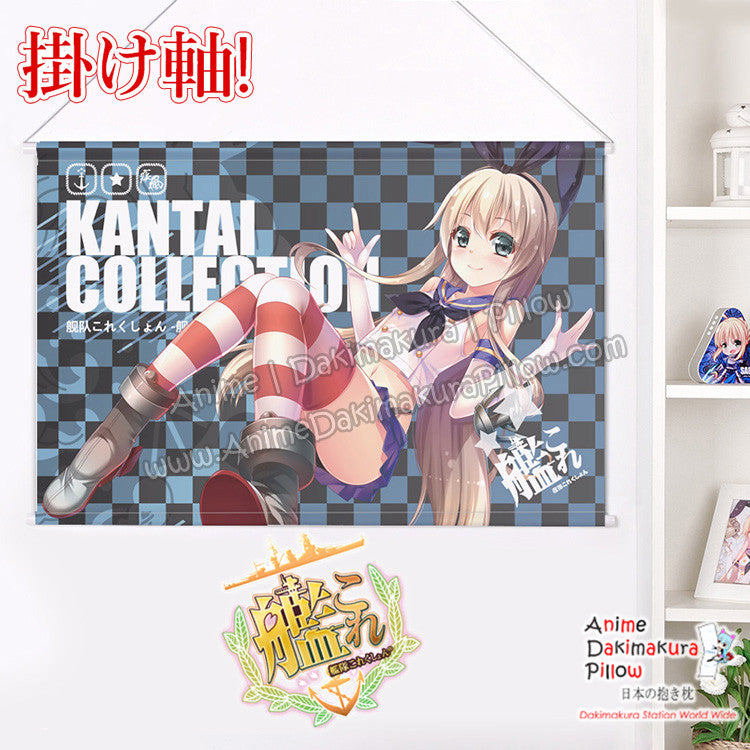 New Kantai Collection Japanese Anime Wall Scroll Poster and Banner H0357