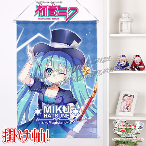 New Miku Hatsune Japanese Anime Wall Scroll Poster and Banner H0360 - Anime Dakimakura Pillow Shop | Fast, Free Shipping, Dakimakura Pillow & Cover shop, pillow For sale, Dakimakura Japan Store, Buy Custom Hugging Pillow Cover - 1