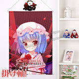 New Touhou Project - Remilia Scarlet Chibi Japanese Anime Wall Scroll Poster and Banner H0370 - Anime Dakimakura Pillow Shop | Fast, Free Shipping, Dakimakura Pillow & Cover shop, pillow For sale, Dakimakura Japan Store, Buy Custom Hugging Pillow Cover - 1