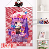 New Touhou Project - Patchouli Knowledge Chibi Japanese Anime Wall Scroll Poster and Banner H0371 - Anime Dakimakura Pillow Shop | Fast, Free Shipping, Dakimakura Pillow & Cover shop, pillow For sale, Dakimakura Japan Store, Buy Custom Hugging Pillow Cover - 1