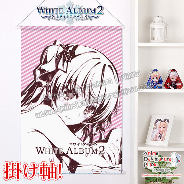 New White Album 2 - Ogiso Setsuna Japanese Anime Wall Scroll Poster and Banner H0374 - Anime Dakimakura Pillow Shop | Fast, Free Shipping, Dakimakura Pillow & Cover shop, pillow For sale, Dakimakura Japan Store, Buy Custom Hugging Pillow Cover - 1