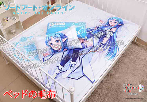 New Asuna - Sword Art Online Japanese Anime Bed Blanket or Duvet Cover with Pillow Covers  H0379 - Anime Dakimakura Pillow Shop | Fast, Free Shipping, Dakimakura Pillow & Cover shop, pillow For sale, Dakimakura Japan Store, Buy Custom Hugging Pillow Cover - 1