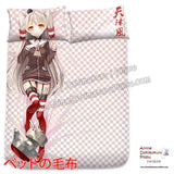 New Amatsukaze - Kantai Collection Japanese Anime Bed Blanket or Duvet Cover with Pillow Covers H0388 - Anime Dakimakura Pillow Shop | Fast, Free Shipping, Dakimakura Pillow & Cover shop, pillow For sale, Dakimakura Japan Store, Buy Custom Hugging Pillow Cover - 2