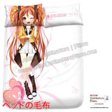 New Enju Aihara - Black Bullet Japanese Anime Bed Blanket or Duvet Cover with Pillow Covers H0389 - Anime Dakimakura Pillow Shop | Fast, Free Shipping, Dakimakura Pillow & Cover shop, pillow For sale, Dakimakura Japan Store, Buy Custom Hugging Pillow Cover - 2