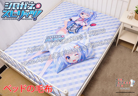 New Nakano Mei - Shirogane Spirits Japanese Anime Bed Blanket or Duvet Cover with Pillow Covers H0390 - Anime Dakimakura Pillow Shop | Fast, Free Shipping, Dakimakura Pillow & Cover shop, pillow For sale, Dakimakura Japan Store, Buy Custom Hugging Pillow Cover - 1