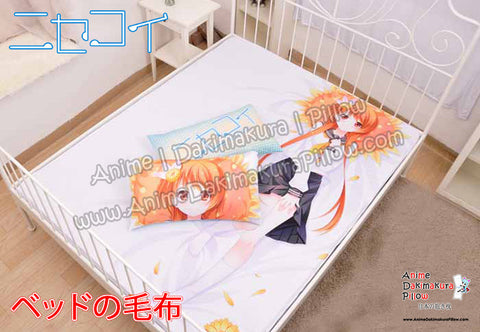 New Tachibana Marika - Nisekoi Japanese Anime Bed Blanket or Duvet Cover with Pillow Covers  H0391 - Anime Dakimakura Pillow Shop | Fast, Free Shipping, Dakimakura Pillow & Cover shop, pillow For sale, Dakimakura Japan Store, Buy Custom Hugging Pillow Cover - 1