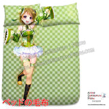 New Koizumi Hanayo - Love Live Japanese Anime Bed Blanket or Duvet Cover with Pillow Covers H0398 - Anime Dakimakura Pillow Shop | Fast, Free Shipping, Dakimakura Pillow & Cover shop, pillow For sale, Dakimakura Japan Store, Buy Custom Hugging Pillow Cover - 2