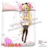 New Nanami Knight Bladefield - If Her Flag Breaks Japanese Anime Bed Blanket or Duvet Cover with Pillow Covers H0401 - Anime Dakimakura Pillow Shop | Fast, Free Shipping, Dakimakura Pillow & Cover shop, pillow For sale, Dakimakura Japan Store, Buy Custom Hugging Pillow Cover - 2