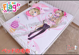 New Nanami Knight Bladefield - If Her Flag Breaks Japanese Anime Bed Blanket or Duvet Cover with Pillow Covers H0401 - Anime Dakimakura Pillow Shop | Fast, Free Shipping, Dakimakura Pillow & Cover shop, pillow For sale, Dakimakura Japan Store, Buy Custom Hugging Pillow Cover - 1