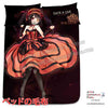 New Kurumi Tokisaki - Date A Live Japanese Anime Bed Blanket or Duvet Cover with Pillow Covers H0403 - Anime Dakimakura Pillow Shop | Fast, Free Shipping, Dakimakura Pillow & Cover shop, pillow For sale, Dakimakura Japan Store, Buy Custom Hugging Pillow Cover - 2