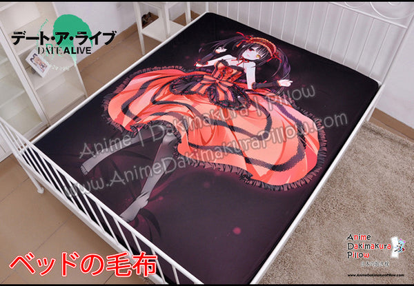 New Kurumi Tokisaki - Date A Live Japanese Anime Bed Blanket or Duvet Cover with Pillow Covers H0403 - Anime Dakimakura Pillow Shop | Fast, Free Shipping, Dakimakura Pillow & Cover shop, pillow For sale, Dakimakura Japan Store, Buy Custom Hugging Pillow Cover - 1