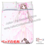 New Yosuga no Sora - Kasugano Sora Japanese Anime Bed Blanket or Duvet Cover with Pillow Covers H0406 - Anime Dakimakura Pillow Shop | Fast, Free Shipping, Dakimakura Pillow & Cover shop, pillow For sale, Dakimakura Japan Store, Buy Custom Hugging Pillow Cover - 2