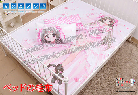 New Yosuga no Sora - Kasugano Sora Japanese Anime Bed Blanket or Duvet Cover with Pillow Covers H0406 - Anime Dakimakura Pillow Shop | Fast, Free Shipping, Dakimakura Pillow & Cover shop, pillow For sale, Dakimakura Japan Store, Buy Custom Hugging Pillow Cover - 1