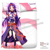 New Konno Yuuki - Sword Art Online Japanese Anime Bed Blanket or Duvet Cover with Pillow Covers H0407 - Anime Dakimakura Pillow Shop | Fast, Free Shipping, Dakimakura Pillow & Cover shop, pillow For sale, Dakimakura Japan Store, Buy Custom Hugging Pillow Cover - 2