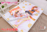 New Kousaka Hanoka - Love Live Japanese Anime Bed Blanket or Duvet Cover with Pillow Covers H0414 - Anime Dakimakura Pillow Shop | Fast, Free Shipping, Dakimakura Pillow & Cover shop, pillow For sale, Dakimakura Japan Store, Buy Custom Hugging Pillow Cover - 1