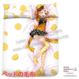 New Kousaka Hanoka - Love Live Japanese Anime Bed Blanket or Duvet Cover with Pillow Covers H0414 - Anime Dakimakura Pillow Shop | Fast, Free Shipping, Dakimakura Pillow & Cover shop, pillow For sale, Dakimakura Japan Store, Buy Custom Hugging Pillow Cover - 2