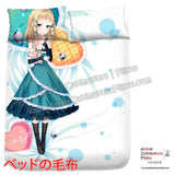 New Tina Sprout - Black Bullet Japanese Anime Bed Blanket or Duvet Cover with Pillow Covers  H0420 - Anime Dakimakura Pillow Shop | Fast, Free Shipping, Dakimakura Pillow & Cover shop, pillow For sale, Dakimakura Japan Store, Buy Custom Hugging Pillow Cover - 2