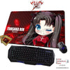 New Tohsaka Rin - Fate Stay Night Anime Gaming Mouse Pad Deluxe Multipurpose Playmat H0432 - Anime Dakimakura Pillow Shop | Fast, Free Shipping, Dakimakura Pillow & Cover shop, pillow For sale, Dakimakura Japan Store, Buy Custom Hugging Pillow Cover - 1