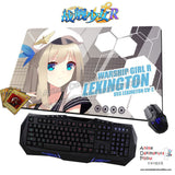 New Lexington - Warship Girls Anime Gaming Mouse Pad Deluxe Multipurpose Playmat H0438 - Anime Dakimakura Pillow Shop | Fast, Free Shipping, Dakimakura Pillow & Cover shop, pillow For sale, Dakimakura Japan Store, Buy Custom Hugging Pillow Cover - 1