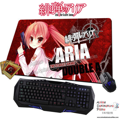 New Aria Holmes Kanzaki - Aria The Scarlet Ammo Anime Gaming Mouse Pad Deluxe Multipurpose Playmat  H0439 - Anime Dakimakura Pillow Shop | Fast, Free Shipping, Dakimakura Pillow & Cover shop, pillow For sale, Dakimakura Japan Store, Buy Custom Hugging Pillow Cover - 1