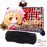 New Flandre Scarlet - Touhou Project Anime Gaming Mouse Pad Deluxe Multipurpose Playmat H0441 - Anime Dakimakura Pillow Shop | Fast, Free Shipping, Dakimakura Pillow & Cover shop, pillow For sale, Dakimakura Japan Store, Buy Custom Hugging Pillow Cover - 1