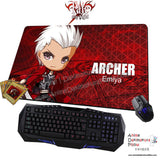 New Archer Emiya - Fate Stay Night Anime Gaming Mouse Pad Deluxe Multipurpose Playmat H0443 - Anime Dakimakura Pillow Shop | Fast, Free Shipping, Dakimakura Pillow & Cover shop, pillow For sale, Dakimakura Japan Store, Buy Custom Hugging Pillow Cover - 1