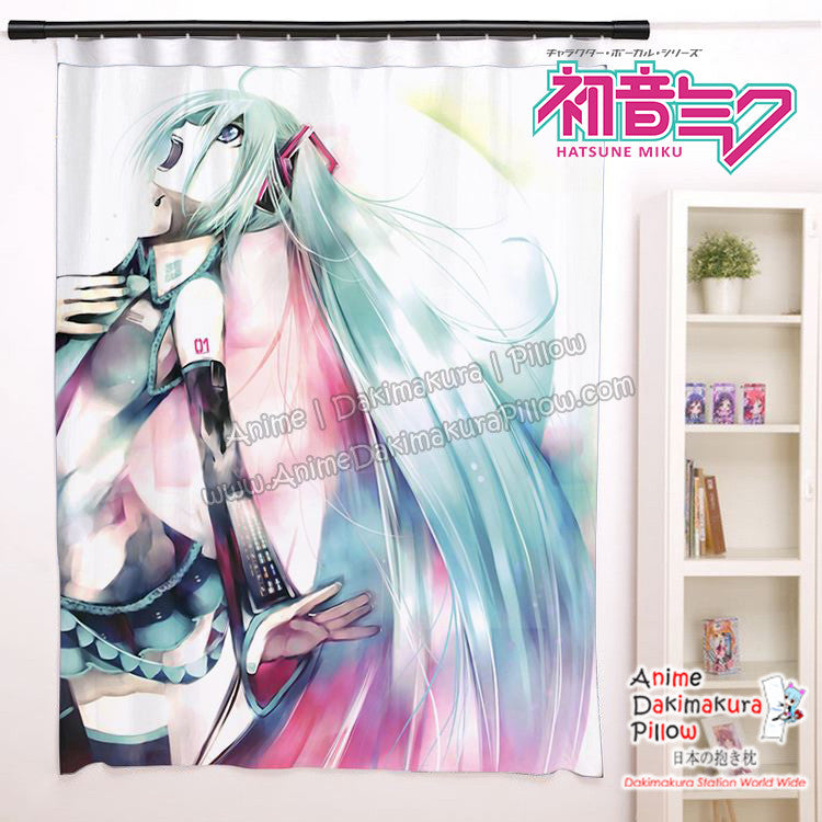 New Hatsune Miku - Vocaloid Anime Japanese Window Curtain Door Entrance Room Partition H0451