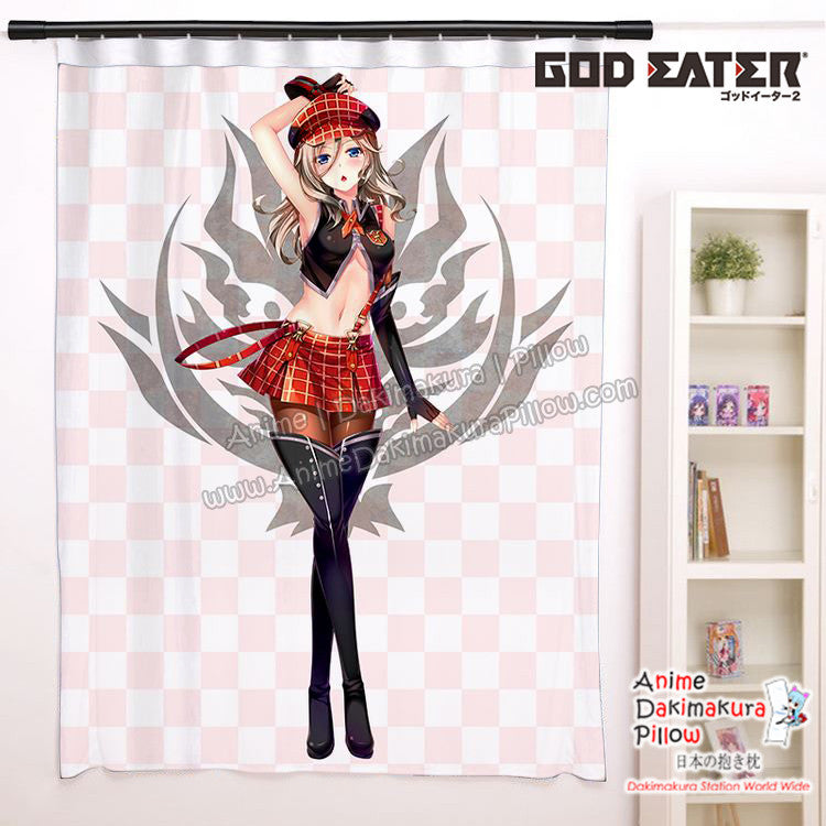 New Alisa Illinichina Amiella - God Eater Anime Japanese Window Curtain Door Entrance Room Partition H0453