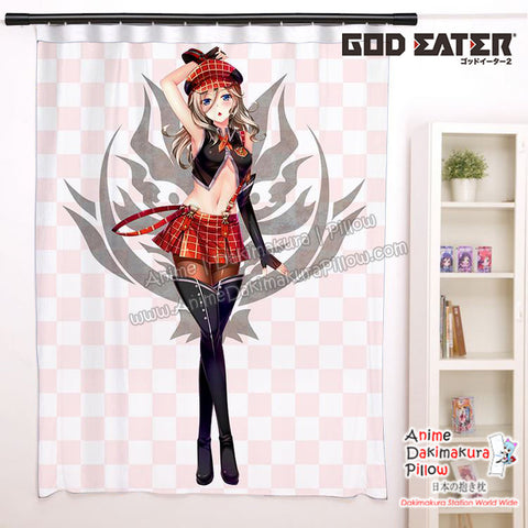 New Alisa Illinichina Amiella - God Eater Anime Japanese Window Curtain Door Entrance Room Partition H0453 - Anime Dakimakura Pillow Shop | Fast, Free Shipping, Dakimakura Pillow & Cover shop, pillow For sale, Dakimakura Japan Store, Buy Custom Hugging Pillow Cover - 1