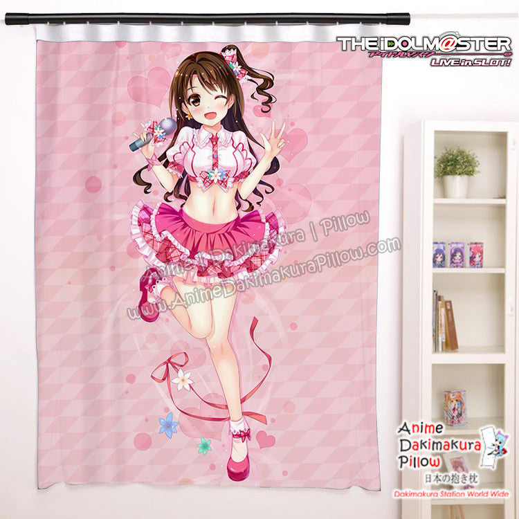 New  Uzuki Shimamura - The Idolmaster Cinderella Girls Anime Japanese Window Curtain Door Entrance Room Partition H0454