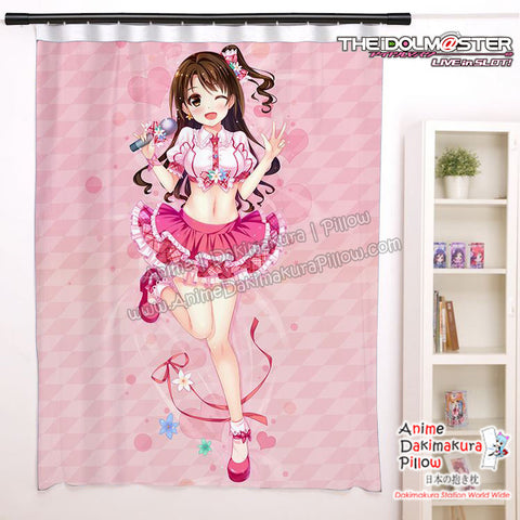 New  Uzuki Shimamura - The Idolmaster Cinderella Girls Anime Japanese Window Curtain Door Entrance Room Partition H0454 - Anime Dakimakura Pillow Shop | Fast, Free Shipping, Dakimakura Pillow & Cover shop, pillow For sale, Dakimakura Japan Store, Buy Custom Hugging Pillow Cover - 1