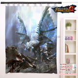 New Frontier G - Monster Hunter Anime Japanese Window Curtain Door Entrance Room Partition H0457 - Anime Dakimakura Pillow Shop | Fast, Free Shipping, Dakimakura Pillow & Cover shop, pillow For sale, Dakimakura Japan Store, Buy Custom Hugging Pillow Cover - 1