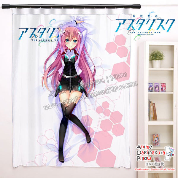 New Julis Riessfeld - The Asterisk War Anime Japanese Window Curtain Door Entrance Room Partition H0458 - Anime Dakimakura Pillow Shop | Fast, Free Shipping, Dakimakura Pillow & Cover shop, pillow For sale, Dakimakura Japan Store, Buy Custom Hugging Pillow Cover - 1