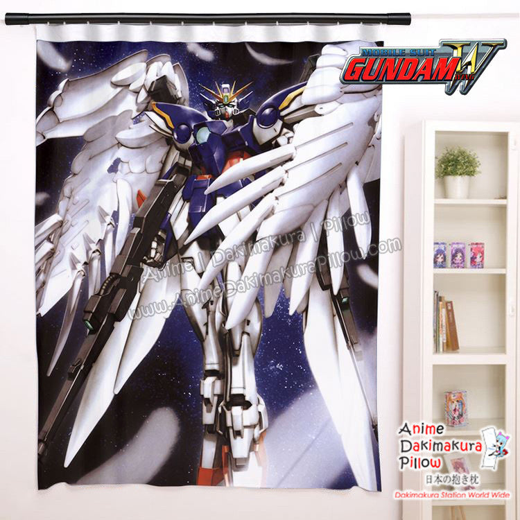 New Wing Gundam Zero Anime Japanese Window Curtain Door Entrance Room Partition H0462