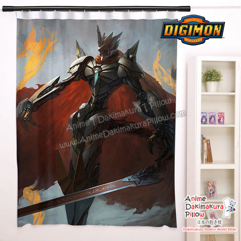 New Jezmon - Digimon Royal Knights Anime Japanese Window Curtain Door Entrance Room Partition H0465 - Anime Dakimakura Pillow Shop | Fast, Free Shipping, Dakimakura Pillow & Cover shop, pillow For sale, Dakimakura Japan Store, Buy Custom Hugging Pillow Cover - 1